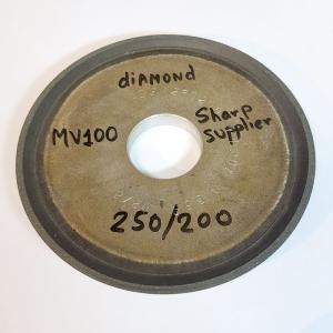 Алмазный диск MV-100. Диаметр 12,5 см. 250/200