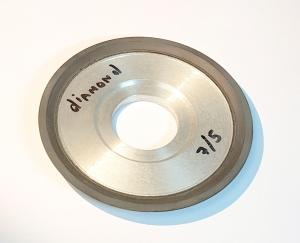 Алмазный диск RV-01. Диаметр 10 см. 7/5